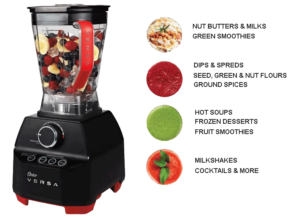 Oster Versa Blender Can blend Any materials