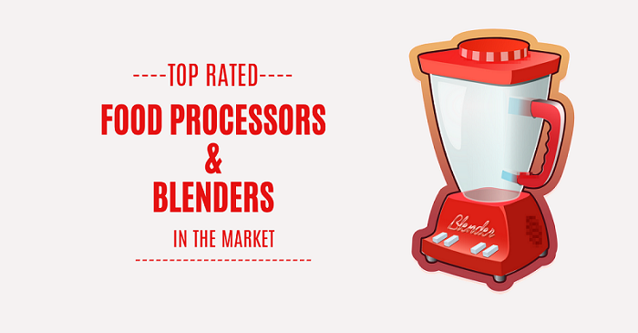 top rated food processors & blenders