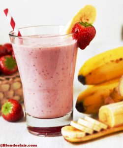 Strawberry Smoothie Recipe without Yogurt